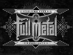 Full Metal Podcast (Pretty/Ugly Design) Tags: metal vintage typography graphicdesign heavymetal cbcradio3 sanbornmapcompany