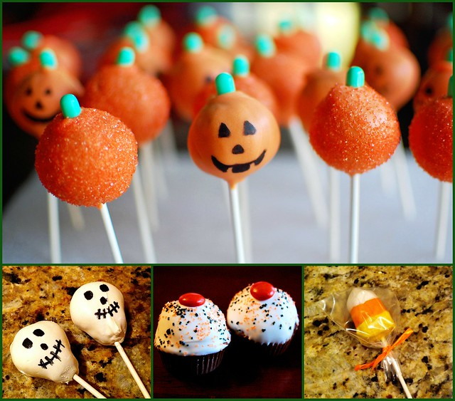 Halloween Sweets Collage