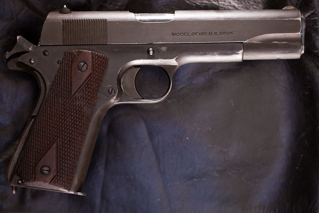 Tell me about this US Army Colt 1911