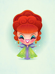 Kawaii Endora (Jerrod Maruyama) Tags: cute witch magic kawaii bewitched endora agnesmoorehead