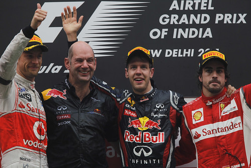 Vettel Button Alonso