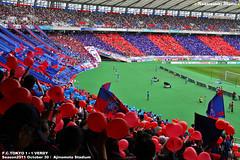 東京ダービー2011 FC東京ゴール裏