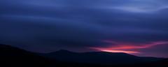 Sunrise Over The Struggle (One_Glass_Eye) Tags: blue red cloud mountains silhouette sunrise dark landscape dawn grasmere smooth lakedistrict hills ambleside struggle kirkstone 5dmk2