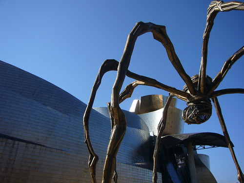 Guggenheim under spider attack