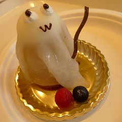 Ghost cake (オバケのケーキ) (MRSY) Tags: cake japan geotagged ghost 日本 osaka usj ケーキ 大阪市 オバケ geo:lat=3466649601817732 geo:lon=13543426305055618