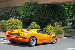 6.0 (AK AutoMotive) Tags: orange monaco diablo lamborghini supercar 60l 2011