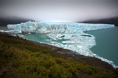 Perito Moreno Glacier - Patagonia - Argentina (tigric (Ana Stefanovi)) Tags: travel blue light vacation sky patagonia santacruz mist mountains reflection ice nature water argentina beautiful fog landscape photography nikon colours shadows view place paisaje glacier peritomorenoglacier losglaciaresnationalpark mygearandme mygearandmepremium mygearandmebronze