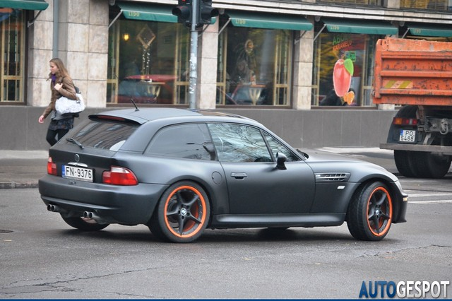 S50B32 M Coupe | Matte Black | Gray/Black | Style 108 Wheels E85 Z4