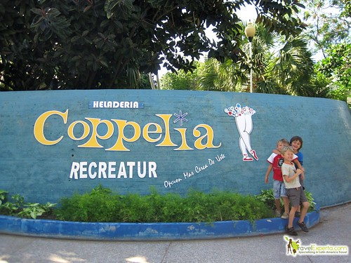 The Famous Coppelia Ice Cream in Havana Cuba