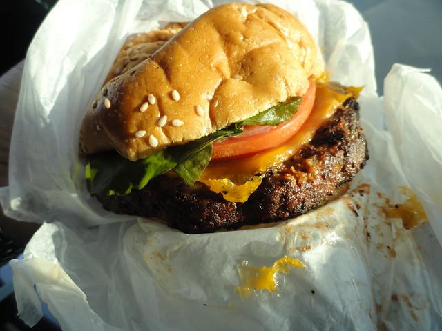 Black Bean Burger, Bobbie's Dairy Dip, Nashville TN