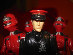 The. Black. Major! (skipthefrogman) Tags: uk red man vintage fun toy europe cobra shadows action cousins bad guys joe figure gi overseas skipthefrogman