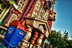 Dear Santa, Just Bring Me The Loot Already! (hbmike2000) Tags: mailbox nikon disneyland postoffice disney stamp mickeymouse d200 hdr toontown hss explored sliderssunday hbmike2000