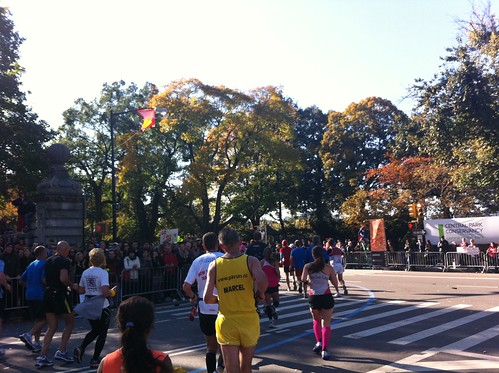 Entering Central Park at 90th Street