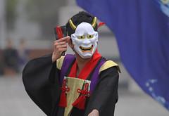 Odaiba Yosakoi  (appow) Tags: japan tokyo mask odaiba