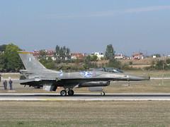 HAF F-16 Block 52+ Zeus Demo Team (taxing) (stefg74) Tags: show greek 2000 force air f16 corsair mirage fighting base f4 a7 haf tanagra rf4 2011 archangelos      falcno