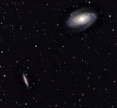 Reprocess of M81/M82 (BudgetAstro) Tags: nikond70 ngc3034 galaxy astrophotography astronomy ursamajor dss ngc3031 m82 m81 astroimaging deepskystacker bodesgalaxy messier81 messier82 Astrometrydotnet:status=solved Astrometrydotnet:version=14400 bodesnebulae Astrometrydotnet:id=alpha20111182464056