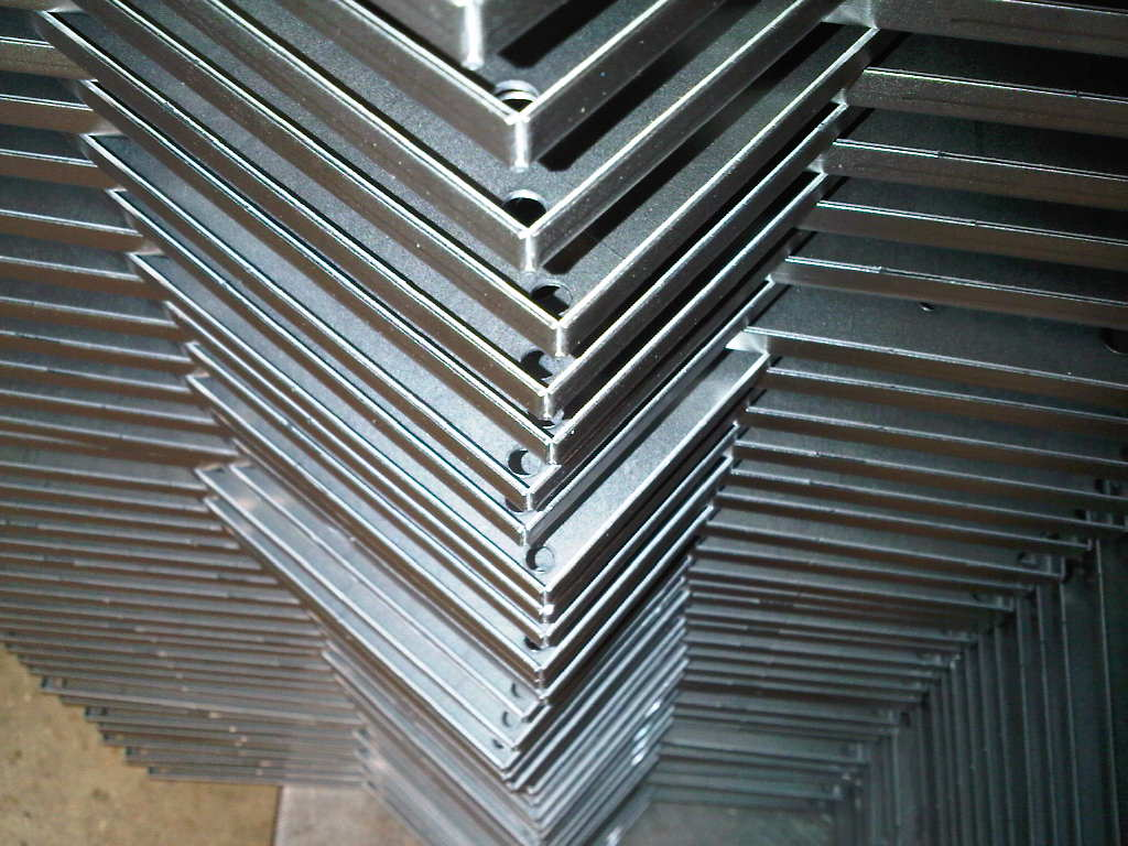 sheet metal trays