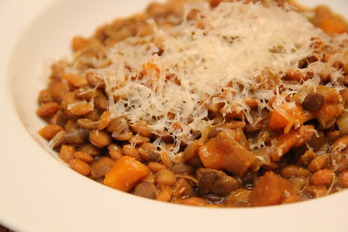 Lentil Stew with Squash