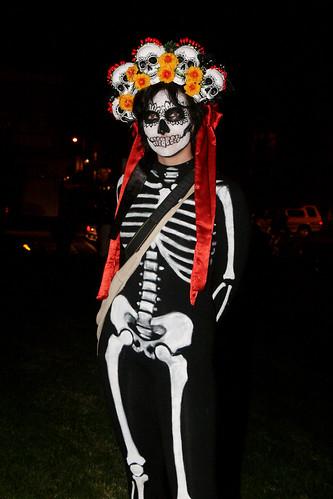 Dia de Los Muertos: Skeleton Costume
