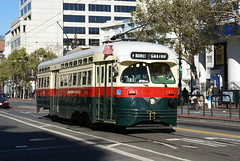 2010-09-23, San Francisco, Market and Eighth Street (Fototak) Tags: sanfrancisco tram railway tramway strassenbahn