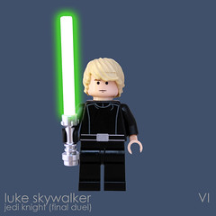 Luke Skywalker (Final Duel) (bruceywan) Tags: death star starwars lego luke mini final ii return figure jedi duel knight minifig skywalker