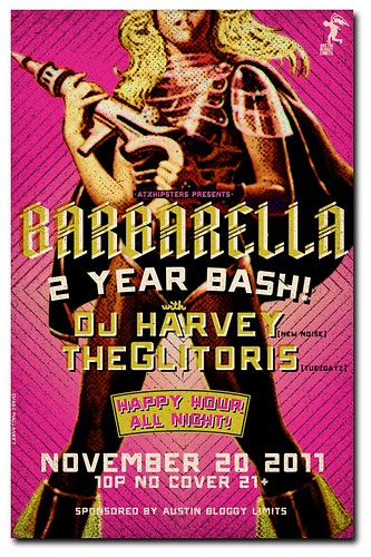 Barbarella Austin - 2 year Bash!