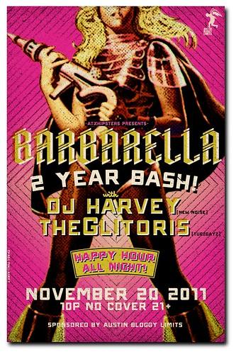 Barbarella Austin - 2 year Bash!