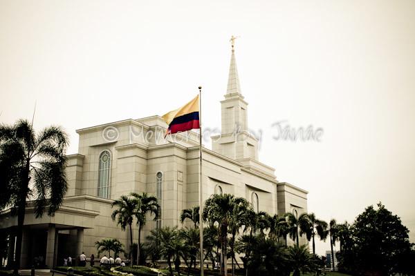Guayaquil Ecuador Vintage LDS Temple Prints -0199