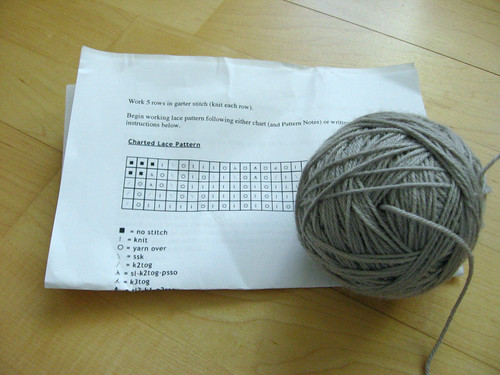 center pull ball and lace chart