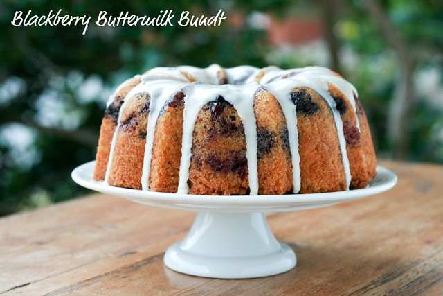 Blackberry Buttermilk Bundt - I Like Big Bundts 2011