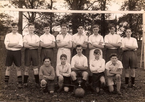 Haddenham or Ely Football Team by familytreeuk