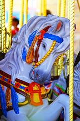 Daily Disney - Carousel Horse (Gary Burke.) Tags: travel vacation horse canon eos rebel orlando colorful ride florida carousel disney disneyworld fl wdw dslr waltdisneyworld merrygoround magickingdom attraction fantasyland garyburke klingon65 t1i canoneosrebelt1i