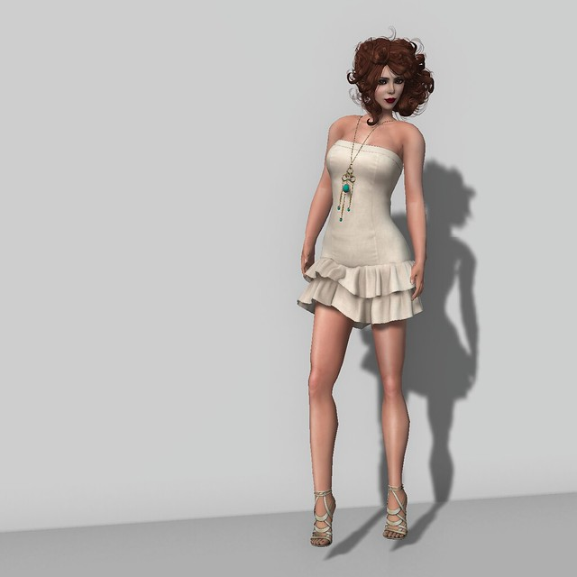 Group Gift Mesh Dress