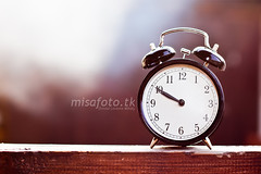 The time 1. (rmsi Levente Mihly) Tags: morning light sun clock sunshine canon eos rebel 50mm kiss time bokeh f14 f28 ef x3 500d t1i