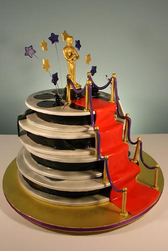 Brilliant Hollywood Oscar Themed 13Th Birthday Cake A Photo On Flickriver Funny Birthday Cards Online Elaedamsfinfo