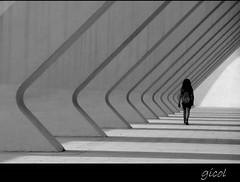 cannot go back (gicol) Tags: shadow valencia girl architecture modern walking spain pattern chica ombra sombra silvia repetition spagna ragazza architectura ripetizione cammina ciudaddelasartes arschitettura