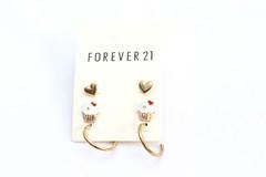 Brinco de Cupcake | Forever 21 (Galeria do Vou Comprar) Tags: brinco brincos vou comprar forever21 foreverxxi voucomprar voucomprarloja