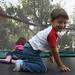 Kinder auf dem Trampolin