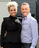 Jennifer Ellison and Daniel Whiston at the ITV studios London, England