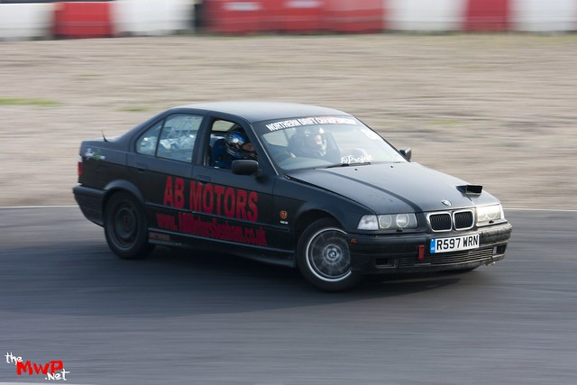 John 'GB' King drifting his BMW E36
