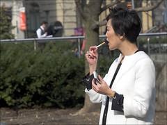 Fashion week (- Jacques) Tags: street toronto fashion smoker e1