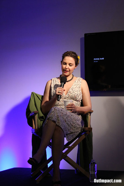 ASHLEY JUDD, Missing Promotional Event At Apple Soho in New York City, March 12, 2012, Photo by Chiu Ng.