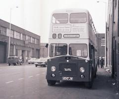4047JW - Wolverhampton 1973 (Walsall1955) Tags: 47 walsall wolverhampton mcw wct metrocammell guyarab wmpte 47n westmidlandspte wolverhamptoncorporationtransport clevelandroad guyarabiv wolverhamptoncorporation wolverhamptonct 4047jw