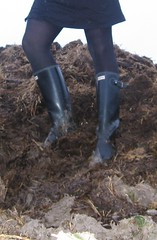 In my Hunters (bootsinmud) Tags: mist mud wellies rubberboots gummistiefel bottes schlamm