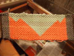 tonight's weaving! (sillyhancox) Tags: sally weaving weave fruitoftheloom hancox
