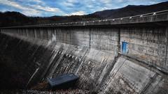 a study of damn dams, dammit (subject 3) (bqdockey) Tags: door blue mountains wall nc nikon long you dam north tokina carolina damn fontana f28 dammit mile onehalf 1116mm hihow d7000 tokina1116mmf28 dingdangit