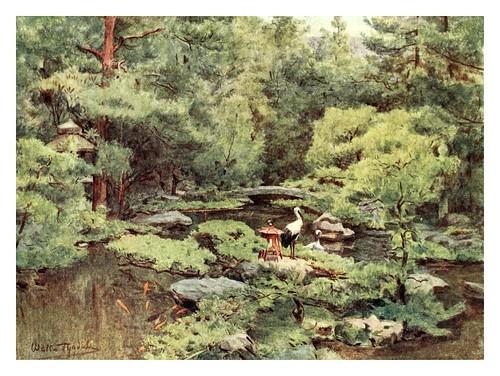 015-Jardin acuatico Nami Kawa San's en Kyoto-Japanese gardens 1912-Walter Tyndale