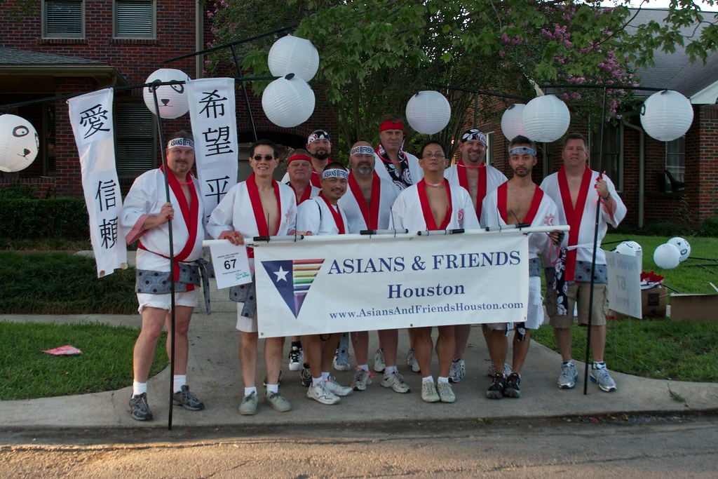 Asians and friends houston