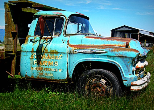 06-28-11 Farm Truck by roswellsgirl