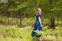 laurel is a woodland creature (365daysofsarav) Tags: green girl woods pretty dress wanderlust laurel greenviaflickrqcom